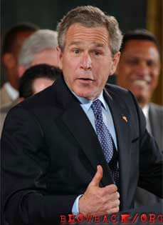 Photograph of President George Bush